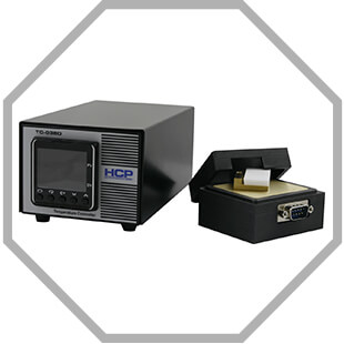 HCP temperature controller and oven set